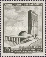 [Airmail - The 150th Anniversary of Independence - U.N.O., Typ XQV1]