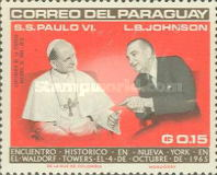 [Visit of Pope Paul VI at the United Nations, Typ YF]