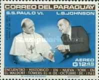 [Airmail - Visit of Pope Paul VI at the United Nations, Typ YG1]