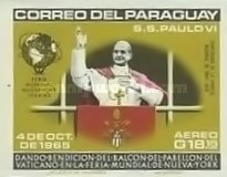[Airmail - Visit of Pope Paul VI at the United Nations, Typ YH3]