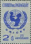 [The 25th Anniversary of UNICEF, type ZTX1]