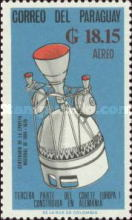 [Airmail - German Contribution to Space Exploration, Typ ZU2]
