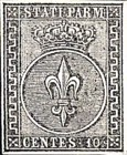 [Coat of Arms - Black Print on Colored Paper, type A1]