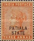 [Queen Victoria, 1819-1901 - India Postage Stamps Overprinted