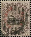 [Queen Victoria, 1819-1901 - Postage Stamps of 1884 Overprinted