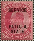 [King Edward VII, 1841-1910 - Postage Stamps Overprinted