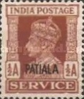 [King George VI, 1895-1952 - India Service Stamps Overprinted