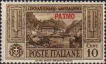 [Italian Occupation- Italian Postage Stamps No. 360-369 Overprinted