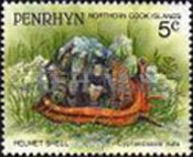 [Marine Life -  Penrhyn Postage Stamps of 1993 with Silver Overprint, type AQ]