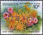[Marine Life -  Penrhyn Postage Stamps of 1993 with Silver Overprint, type AR]
