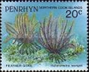 [Marine Life -  Penrhyn Postage Stamps of 1993 with Silver Overprint, type AT]