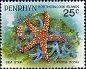 [Marine Life -  Penrhyn Postage Stamps of 1993 with Silver Overprint, type AU]