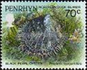 [Marine Life -  Penrhyn Postage Stamps of 1993 with Silver Overprint, type AX]