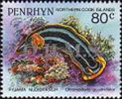 [Marine Life -  Penrhyn Postage Stamps of 1993 with Silver Overprint, type AY]