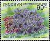 [Marine Life -  Penrhyn Postage Stamps of 1993 with Silver Overprint, type BA]