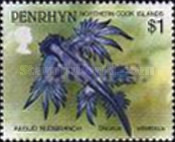 [Marine Life -  Penrhyn Postage Stamps of 1993 with Silver Overprint, type BB]