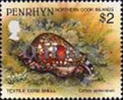 [Marine Life -  Penrhyn Postage Stamps of 1993 with Silver Overprint, type BC]