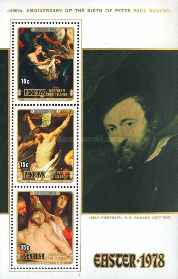 [Easter - The 400th Anniversary of the Birth of Peter Paul Rubens, 1577-1640, type ]