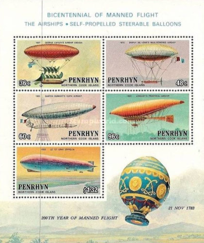 [The 200th Anniversary of Manned Flight - Airships, type ]