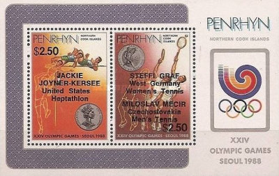 [Olympic Games - Seoul, South Korea - Gold Medal Winners, type ]