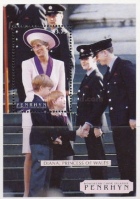 [Diana, Princess of Wales Commemoration, 1961-1997, type ]