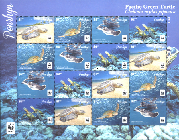 [WWF - Pacific Green Turtle, type ]