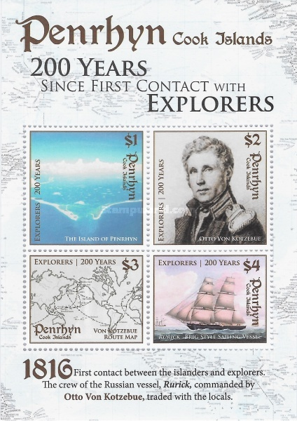 [The 200th Anniversary of the First Contact with Explorers, type ]