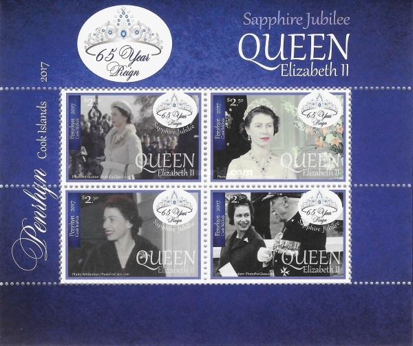 [The 65th Anniversary of the Reign of Queen Elizabeth II, type ]