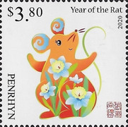 [Chinese New Year 2020 - Year of the Rat, type AAP]