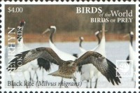[Birds of the World - Birds of Prey - White Frame, type AAS]