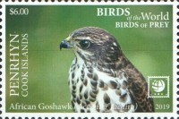 [Birds of the World - Birds of Prey - White Frame, type AAT]