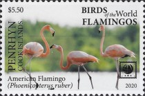 [Birds of the World - Flamingos, type ABM]