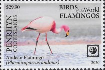[Birds of the World - Flamingos, type ABP]