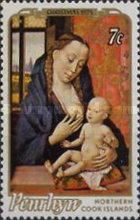 [Christmas - Paintings of Madonna and Child, type AZ]