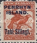 [New Zealand Postage Stamps Surcharged, type B2]