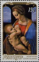 [Christmas - Paintings of Madonna and Child, type BA]