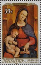 [Christmas - Paintings of Madonna and Child, type BB]