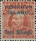 [New Zealand Postage Stamps Surcharged, type C2]