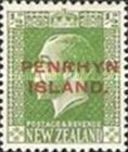 [New Zealand Postage Stamps Overprinted, type D]