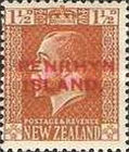 [New Zealand Postage Stamps Overprinted, type D2]