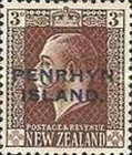 [New Zealand Postage Stamps Overprinted, type D4]