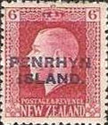 [New Zealand Postage Stamps Overprinted, type D6]