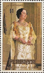 [The 80th Anniversary of the Birth of Queen Elizabeth the Queen Mother, 1900-2002, type DG]