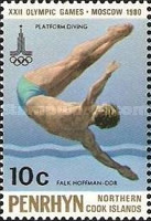 [Olympic Games - Moscow, USSR - Winners, type DH]