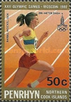 [Olympic Games - Moscow, USSR - Winners, type DN]