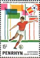 [Football World Cup - Spain 1982, type FW]