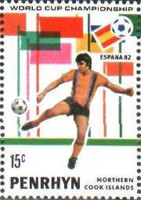 [Football World Cup - Spain 1982, type FX]