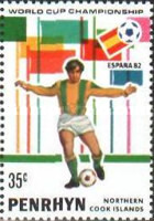 [Football World Cup - Spain 1982, type GB]