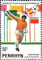 [Football World Cup - Spain 1982, type GC]
