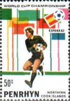 [Football World Cup - Spain 1982, type GE]